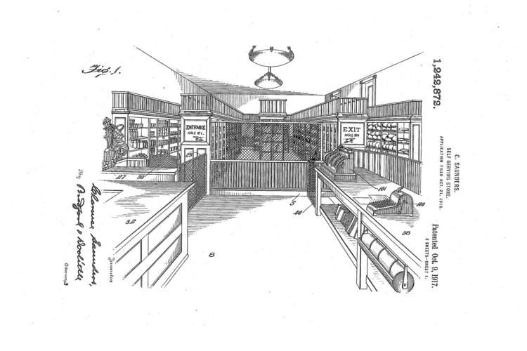 Retail de consumo, primera patente