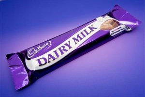 marca de color lila cadbury