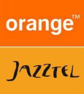 marca de color naranja telefonía