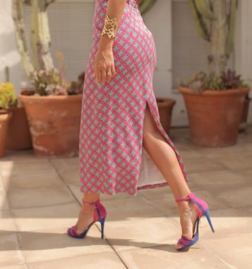Sandalia Piano y vestido Panambi