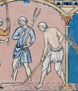 Las bragas se usaron más como una especie de Pantalones