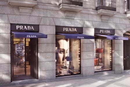 Tiendas Milla de Oro de Madrid Prada