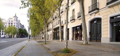 Milla de Oro de Madrid vacia