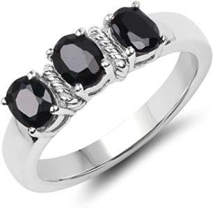 piedras preciosas negras zafiro