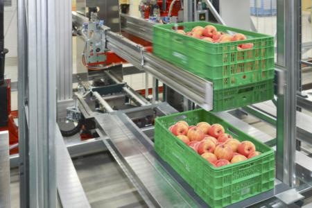 almacén robotizado Mercadona logística