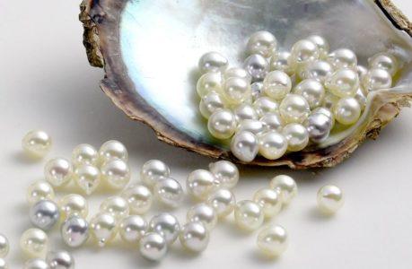 piedras preciosas blancas la perla