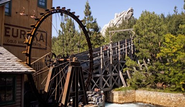 Grizzly Peak. Fuente: Disney Parks