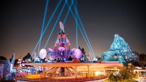 Tomorrowland Disneyland. Fuente: Disney Parks
